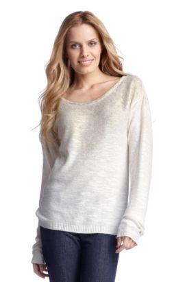 Pullover ´Wessican` aus Viskose-Gemisch, Natur