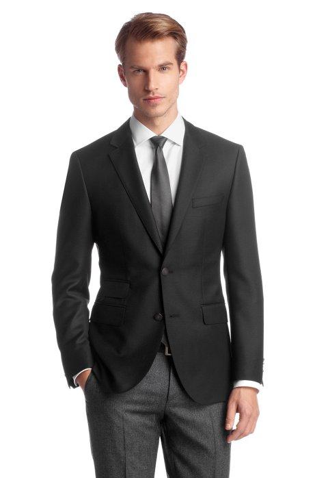 Tailored jacket 'The Transit1', Black