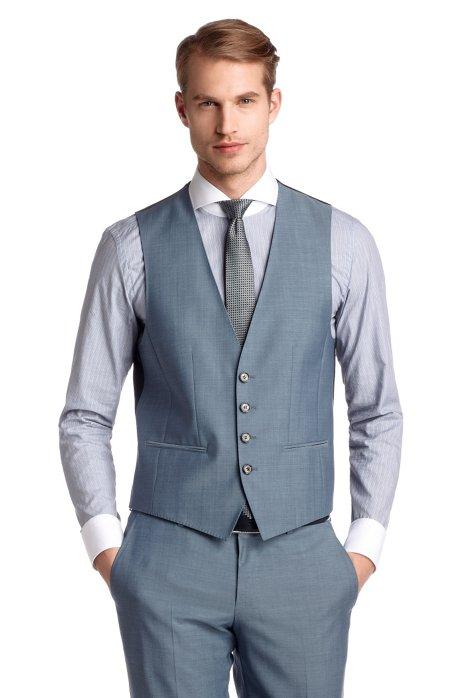 low priced 52fd7 ac359 BOSS - Slim-Fit Business-Anzug ´Hold1/Genius1 WE`