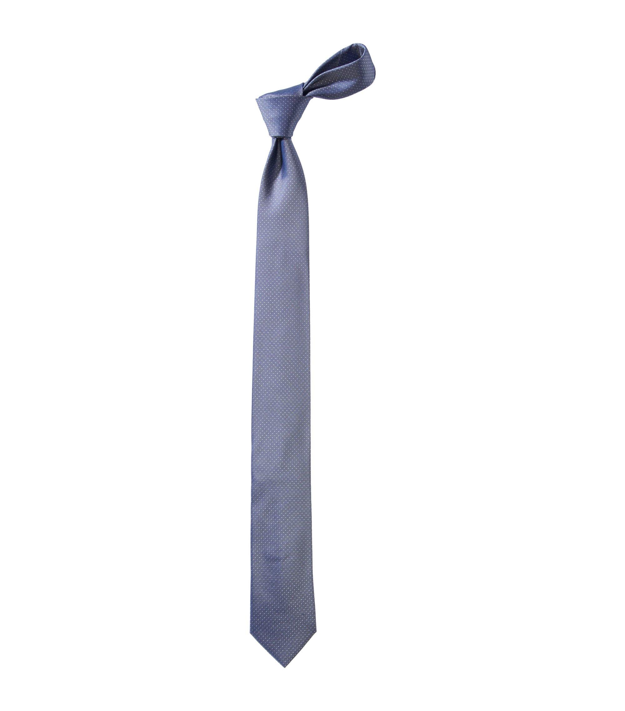 Cravate à carreaux, Tie 6 cm, Bleu foncé