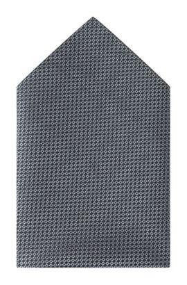 Einstecktuch ´Pocket square 33x33` aus Seide, Schwarz