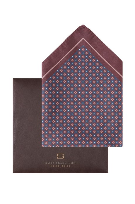 Printed pocket square 'Pocket square 33x33', Red