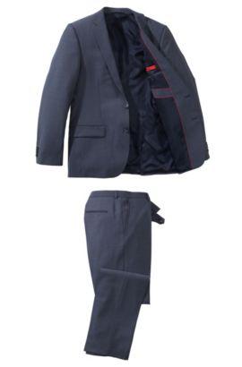 Slim fit kostuum ´Amaro/Heise` van HUGO, Donkerblauw