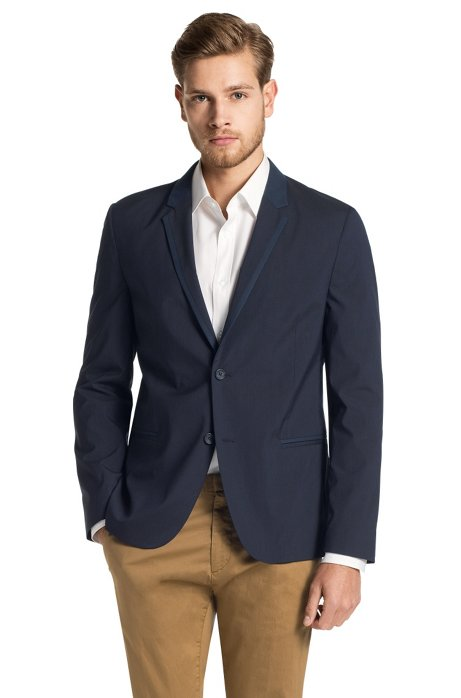 New fashion casual fit jacket from HUGO 'Andem', Dark Blue