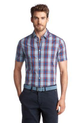 Freizeit-Hemd ´Bastiano`, Hellblau