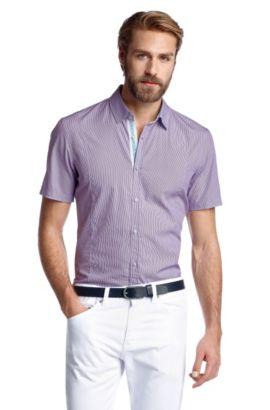Slim-Fit Freizeit-Hemd ´Marco_1 Modern Essential, Flieder