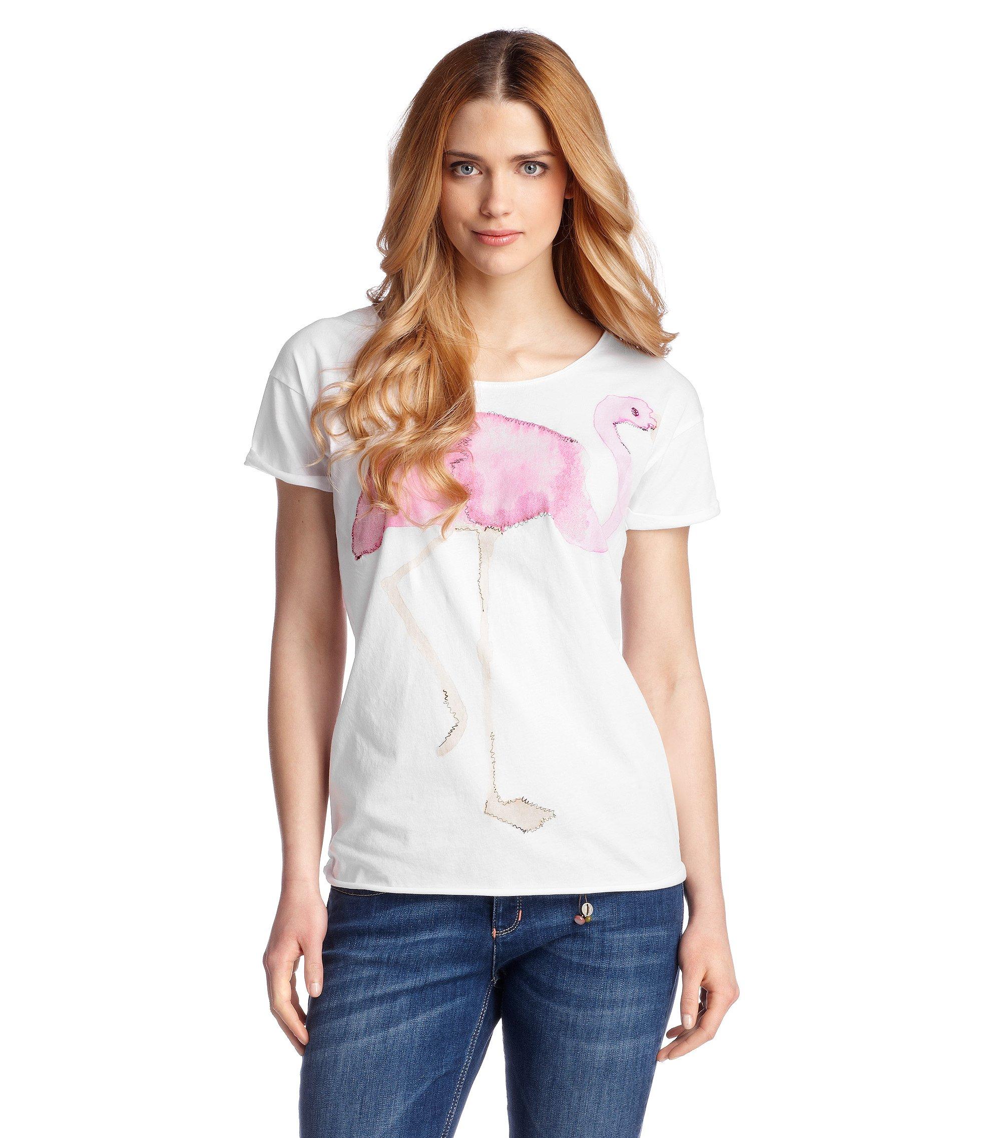 T-Shirt ´Talme` in weiter Passform, Weiß