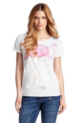 T-shirt de coupe ample, Talme, Blanc