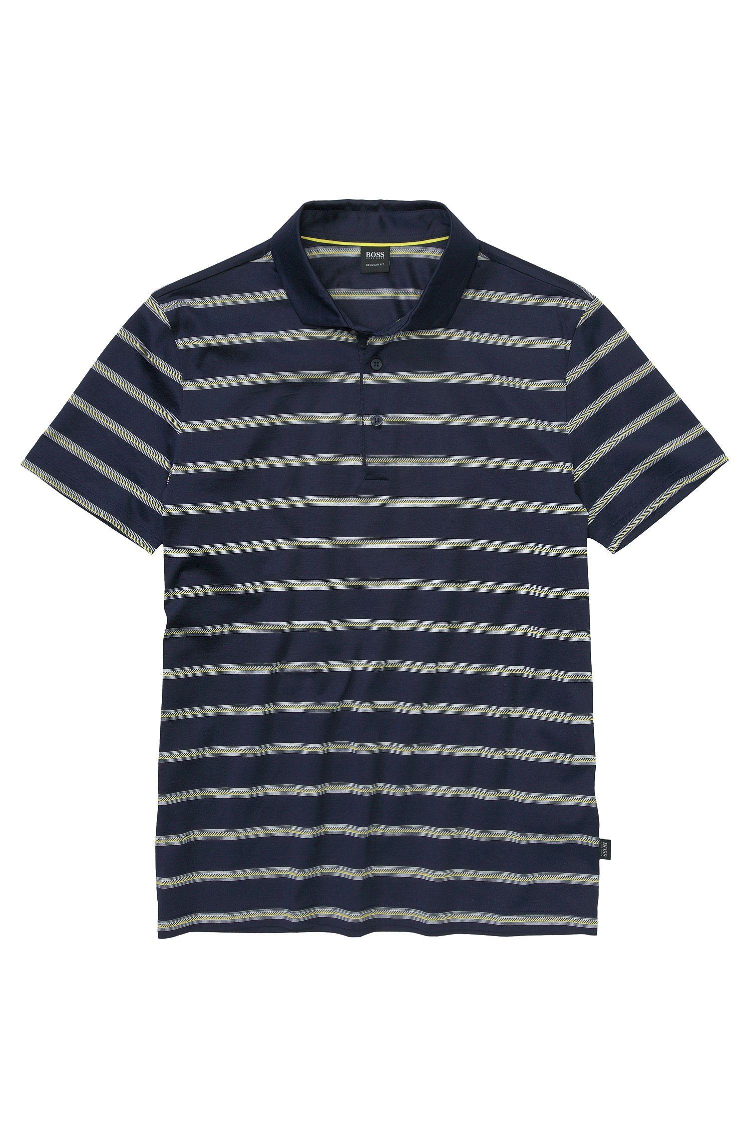 Polo ´San Remo` aus reiner Baumwolle, Hellblau