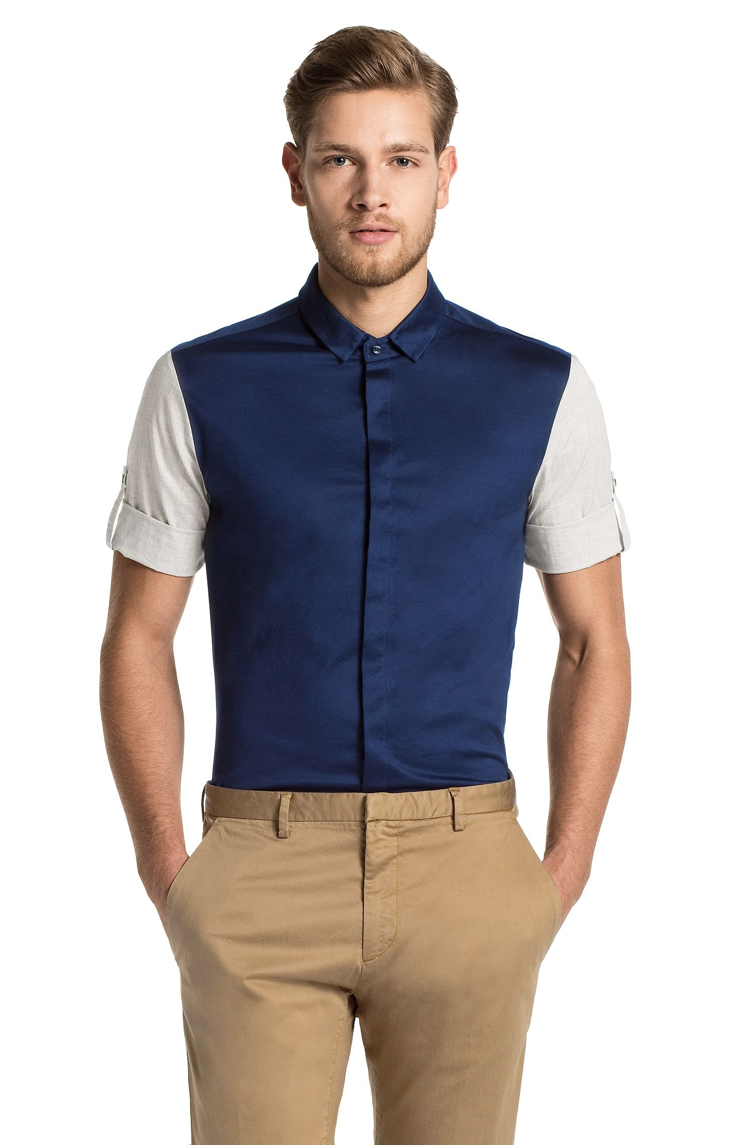 Chemise manches courtes Regular Fit, Darroll