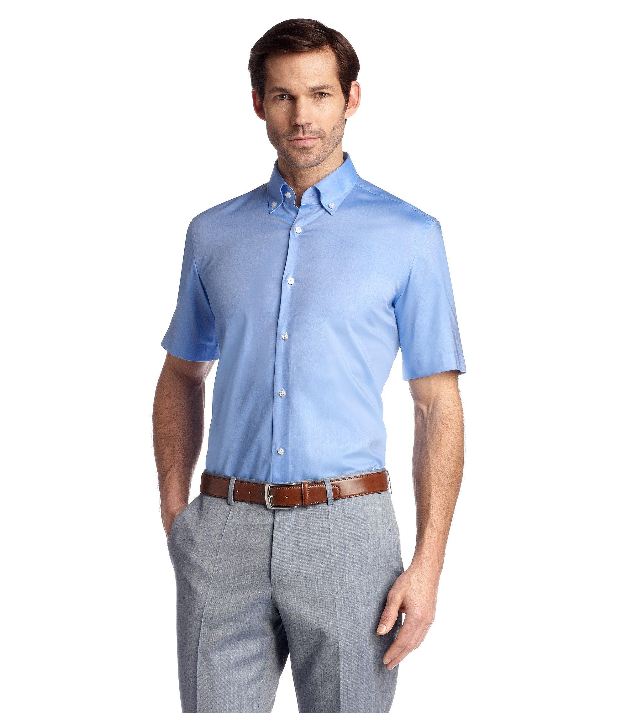 Regular-Fit Business-Hemd ´Edke`, Blau