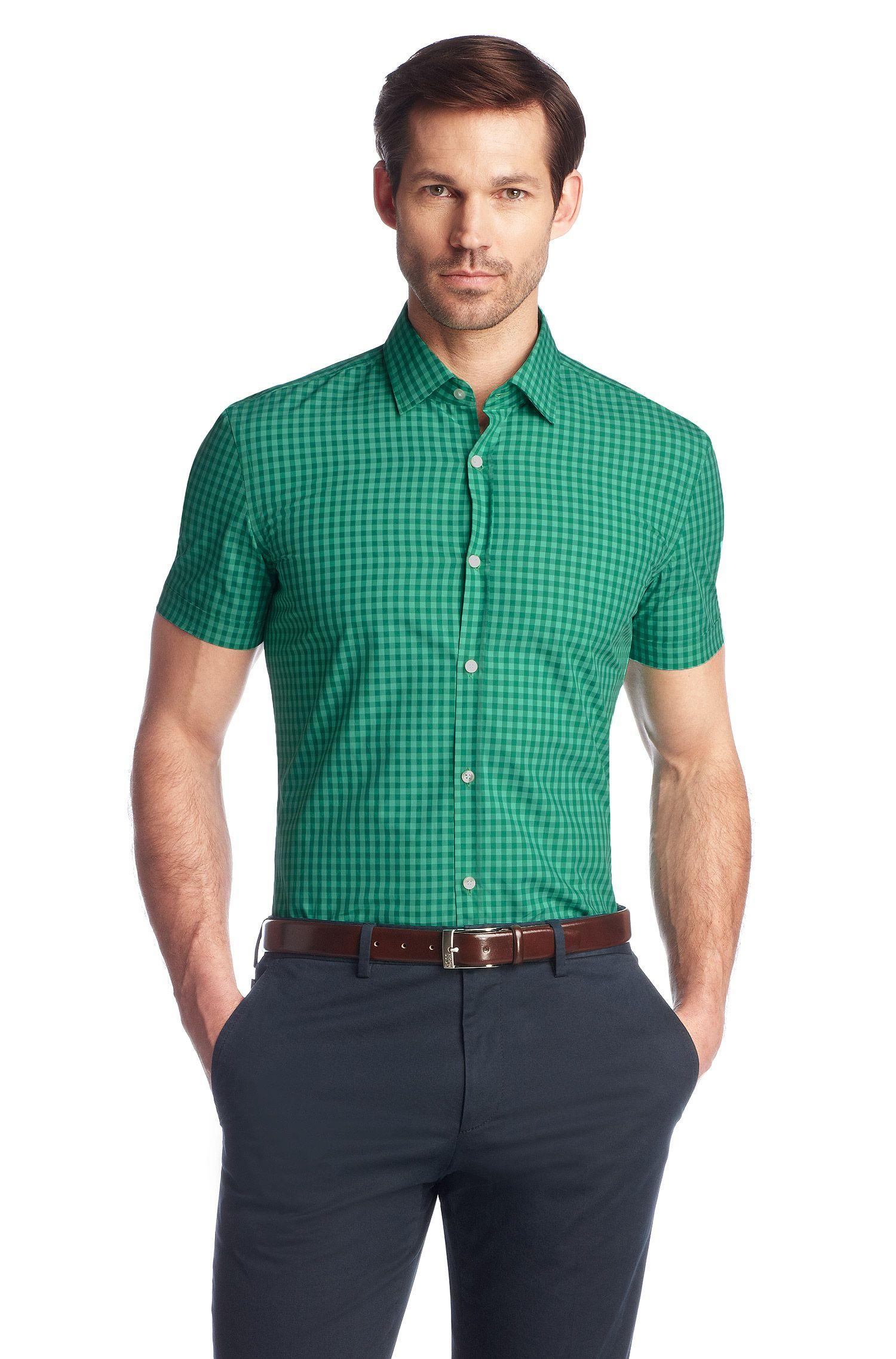 Chemise business Slim Fit à col Kent, Jats