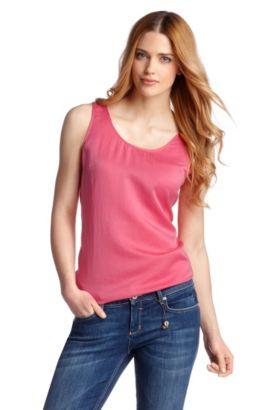 Top ´Etope` tailliert geschnitten, Pink