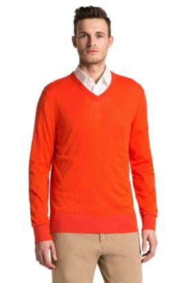 Pullover ´Sacorco` aus Baumwolle, Orange