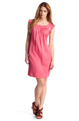 Long-Bluse/Kleid ´Corianae_1` aus Seiden-Mix, Pink