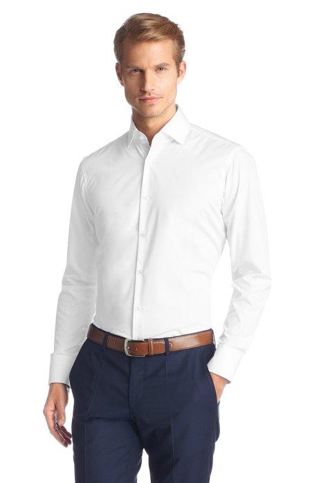 Regular Fit, easy-iron business shirt 'Eraldin', White