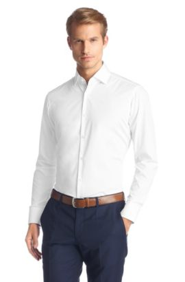 Chemise business Regular Fit, Eraldin, Blanc