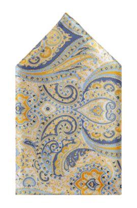 Einstecktuch ´Pocket square 33x33` aus Seide, Gelb