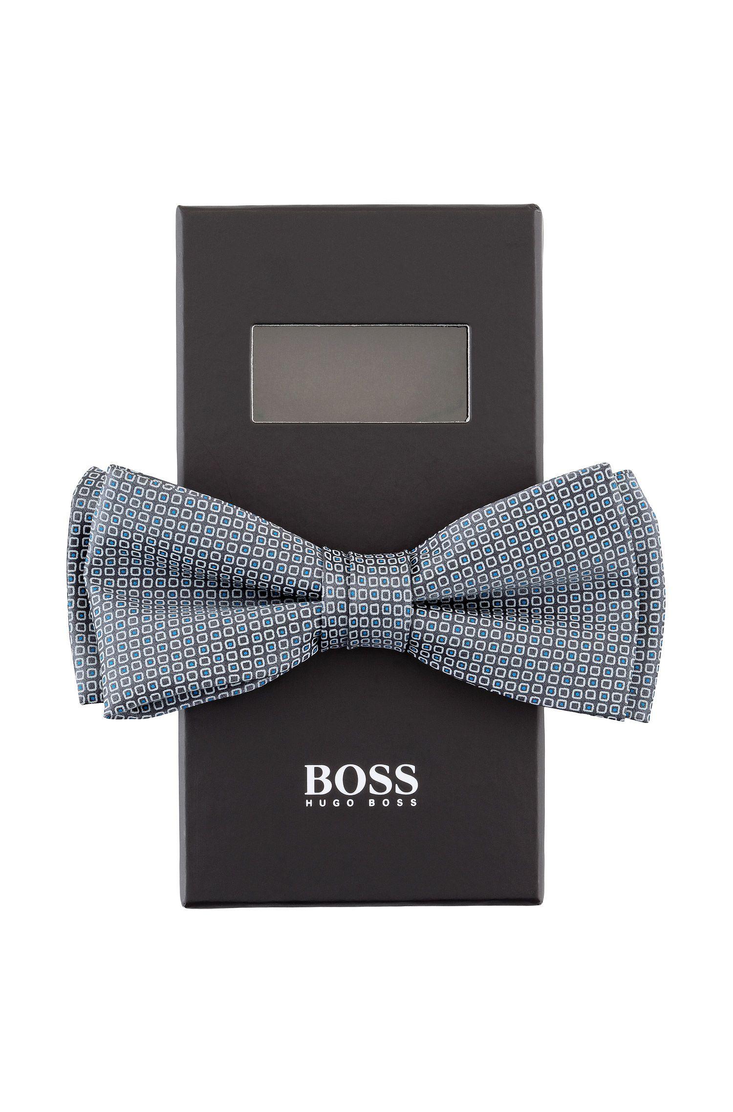 Fliege ´Bow tie fashion` aus glänzender Seide