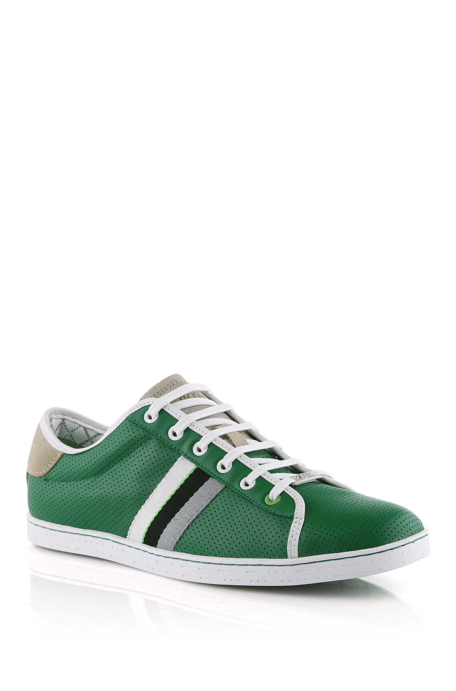 Sneakers ´Micks` van geperforeerd kalfsleer