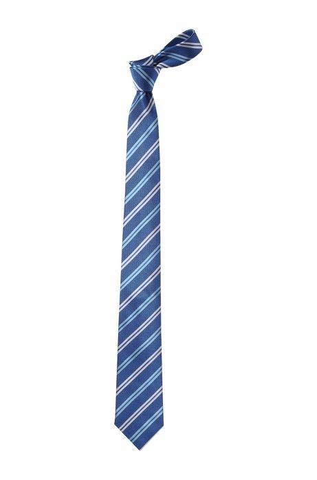 Silk tie 'Tie 7.5 cm', Blue