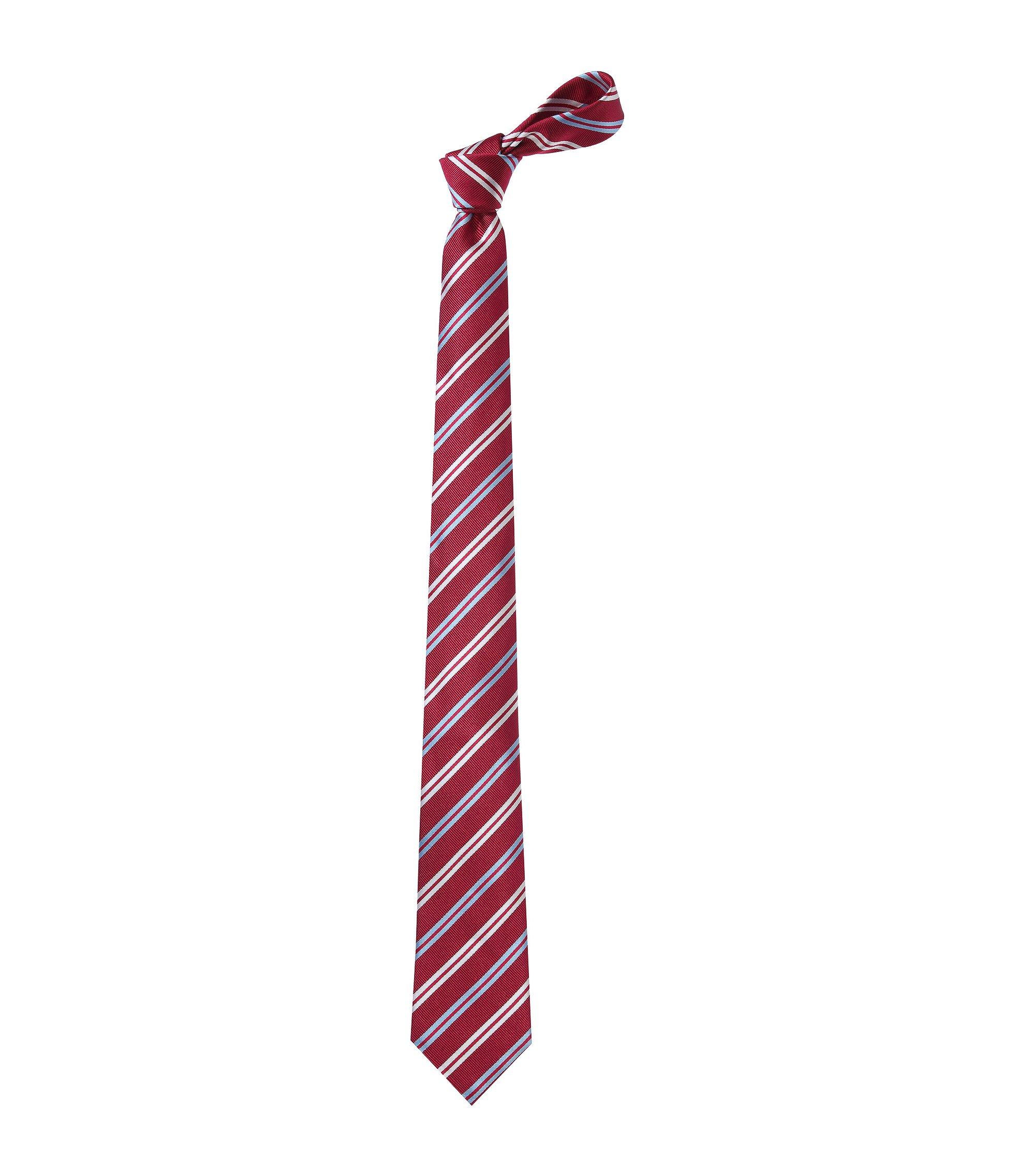 Krawatte ´Tie 7,5 cm` aus Seide, Rot