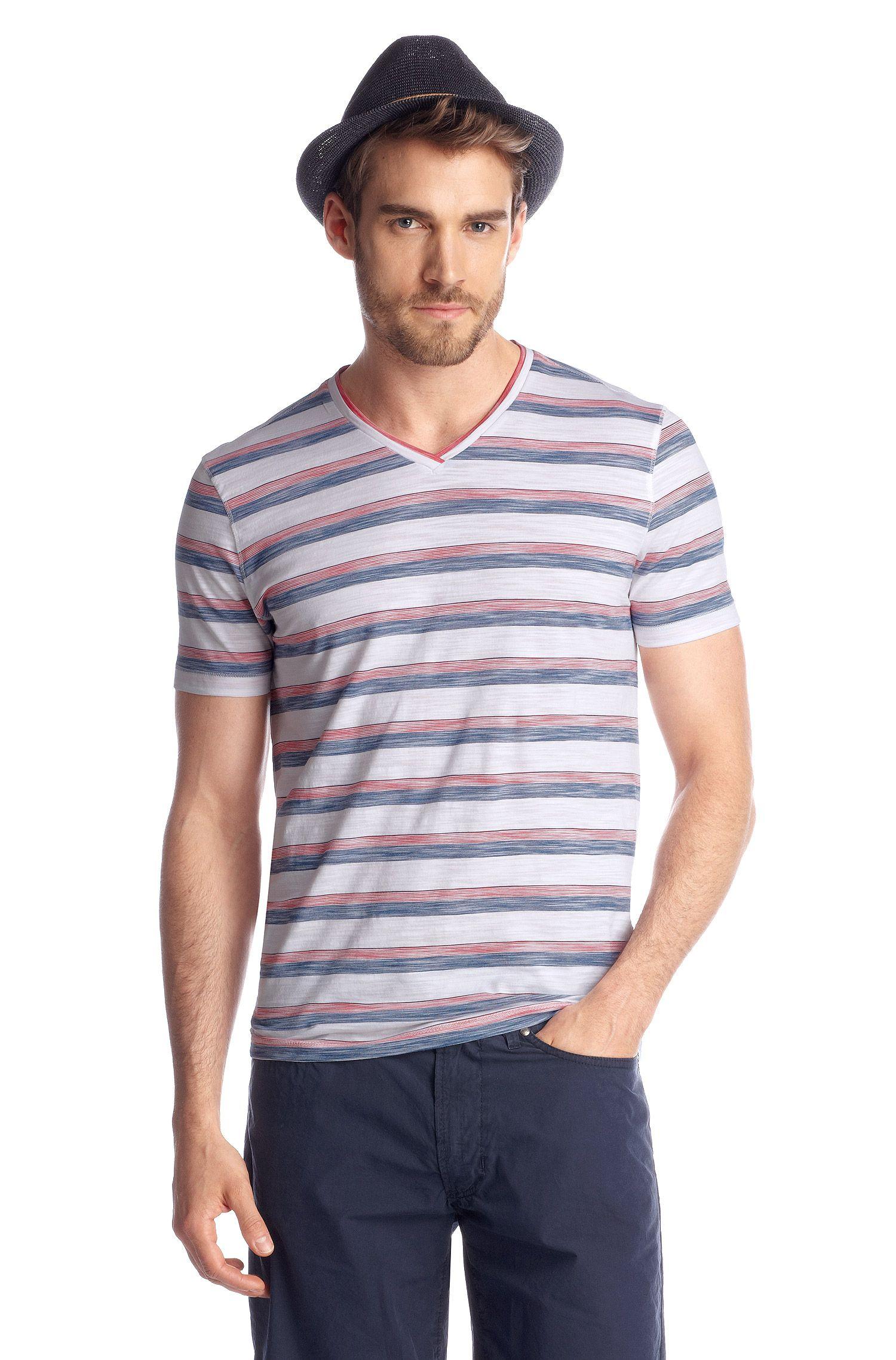T-Shirt ´Eraldo 54` mit V-Ausschnitt