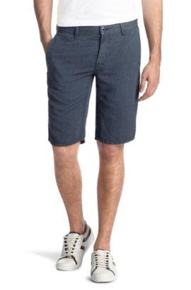 Short style cinq poches, Shure-Shorts-D, Bleu foncé