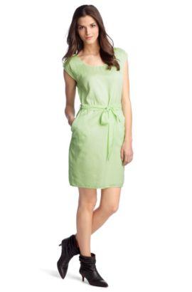 Kleid ´Akasusa-D` in feiner Seidenkomposition, Hellgrün