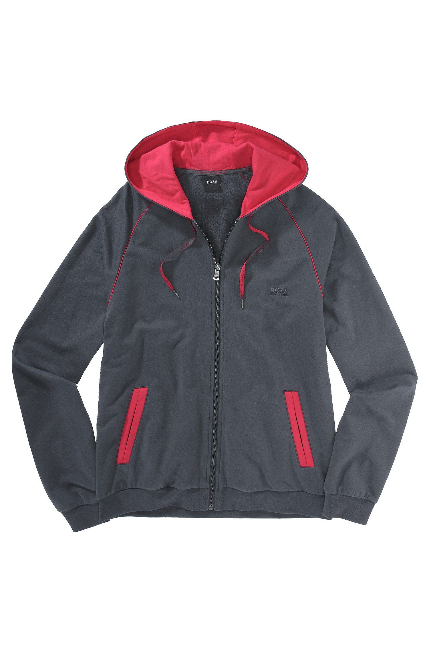 Veste molletonnée Regular Fit, Jacket Hooded BM