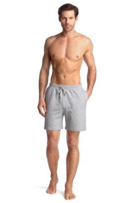 Short en molleton de coton, Short Pant BM, Gris
