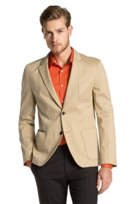 Veston HUGO, New Fashion Casual Fit, Antero, Beige