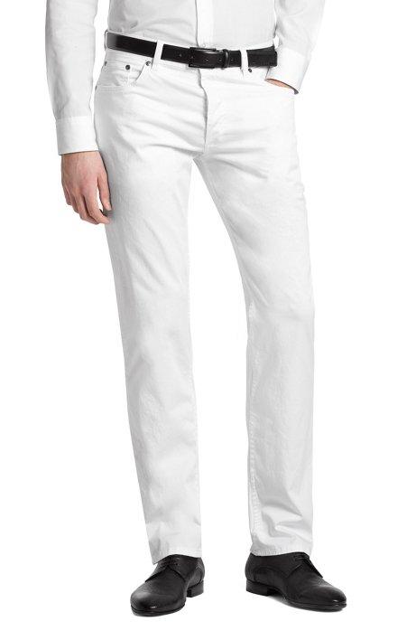 Regular fit jeans 'HUGO 677 / 8', White