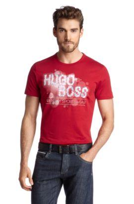 T-Shirt ´Tee 3` mit Rundhals-Ausschnitt, Rot