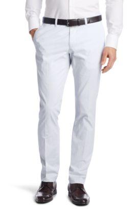 Pantalon à jambes étroites, Wing1-W, Bleu vif