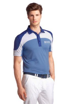 Polo en tissu S.Café, Paddy Pro 3, Bleu vif