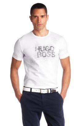 T-shirt à encolure ronde, Tee Tech 2, Blanc