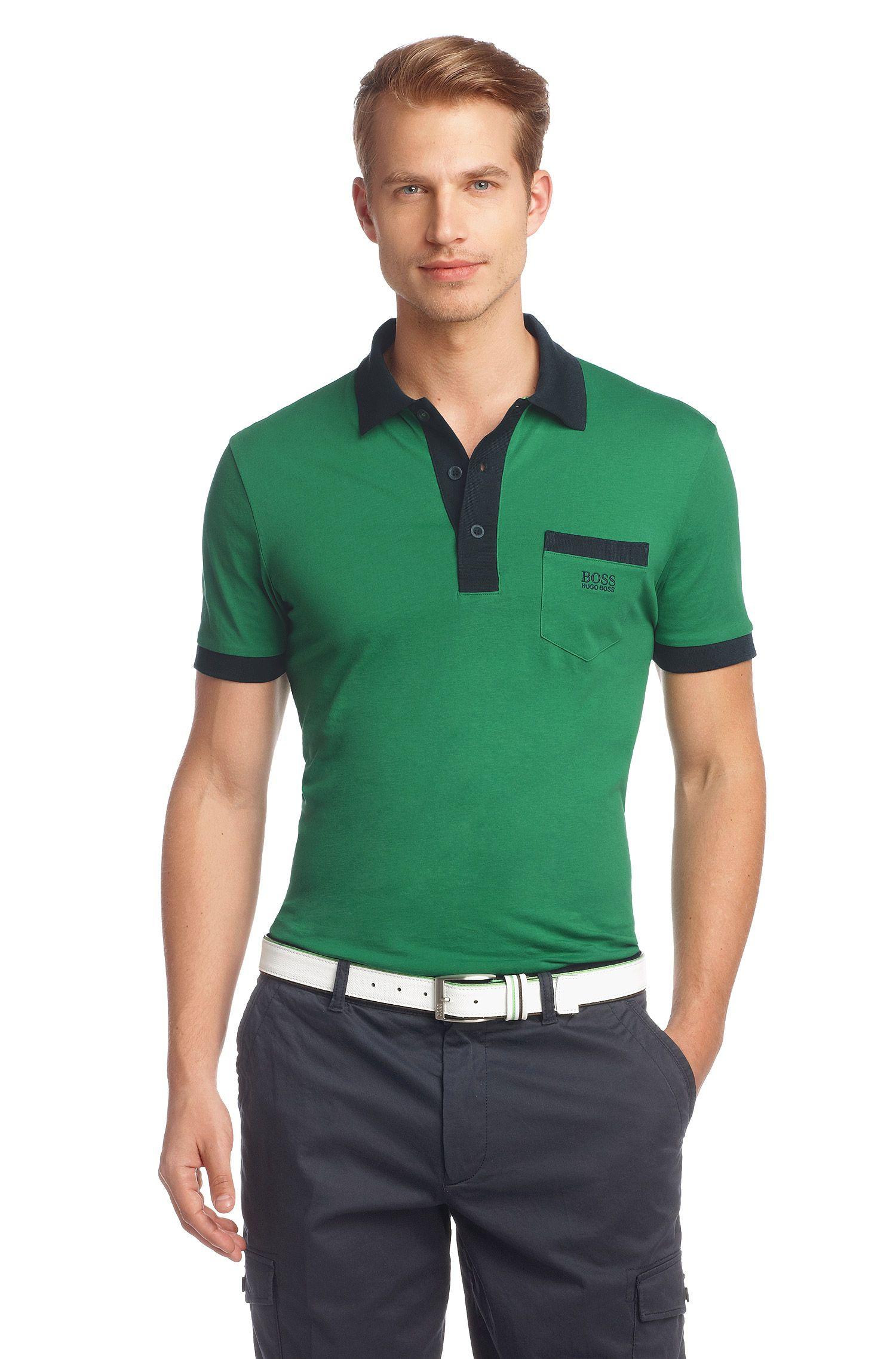 Poloshirt ´Paddys` van zuiver katoen