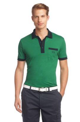 Poloshirt ´Paddys` van zuiver katoen, Groen