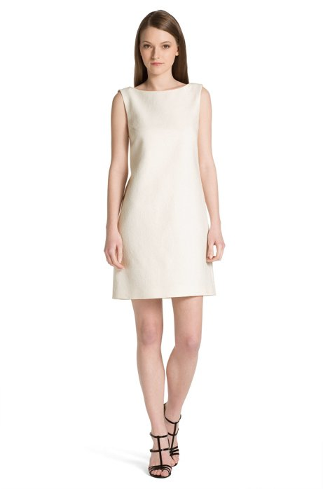 Cotton dress 'Katisa-1', Natural