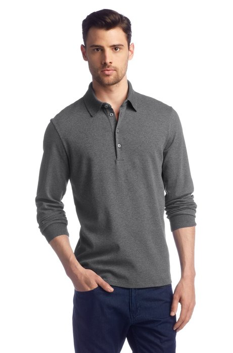 Regular Fit polo shirt 'Paderna 20', Grey