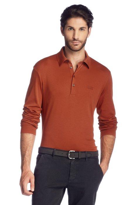 Regular Fit polo shirt 'Paderna 20', Brown