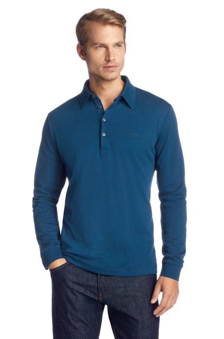 Regular Fit polo shirt 'Paderna 20', Open Blue