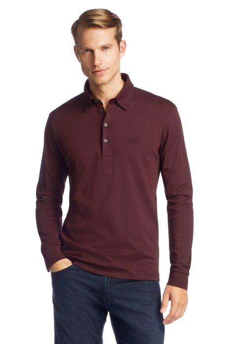 Regular Fit polo shirt 'Paderna 20', Dark Red