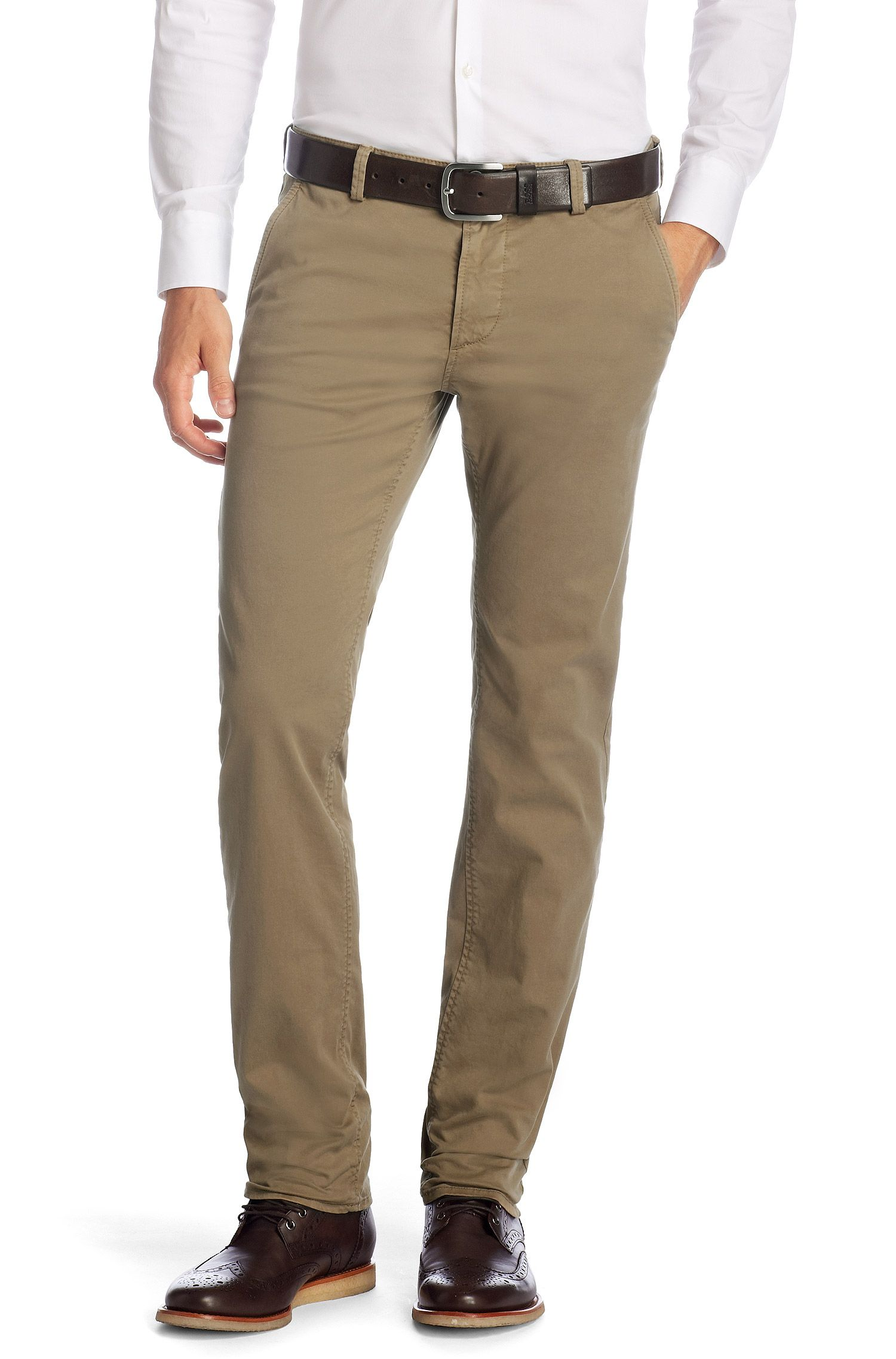 Chino Slim Fit « Rice-1-D Modern Essential »