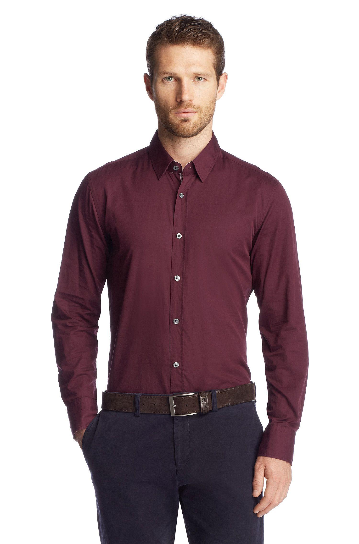 Slim-Fit Freizeit-Hemd ´Ronny_21 Modern Essentia