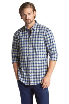 Chemise détente Slim Fit, CliffE, Bleu