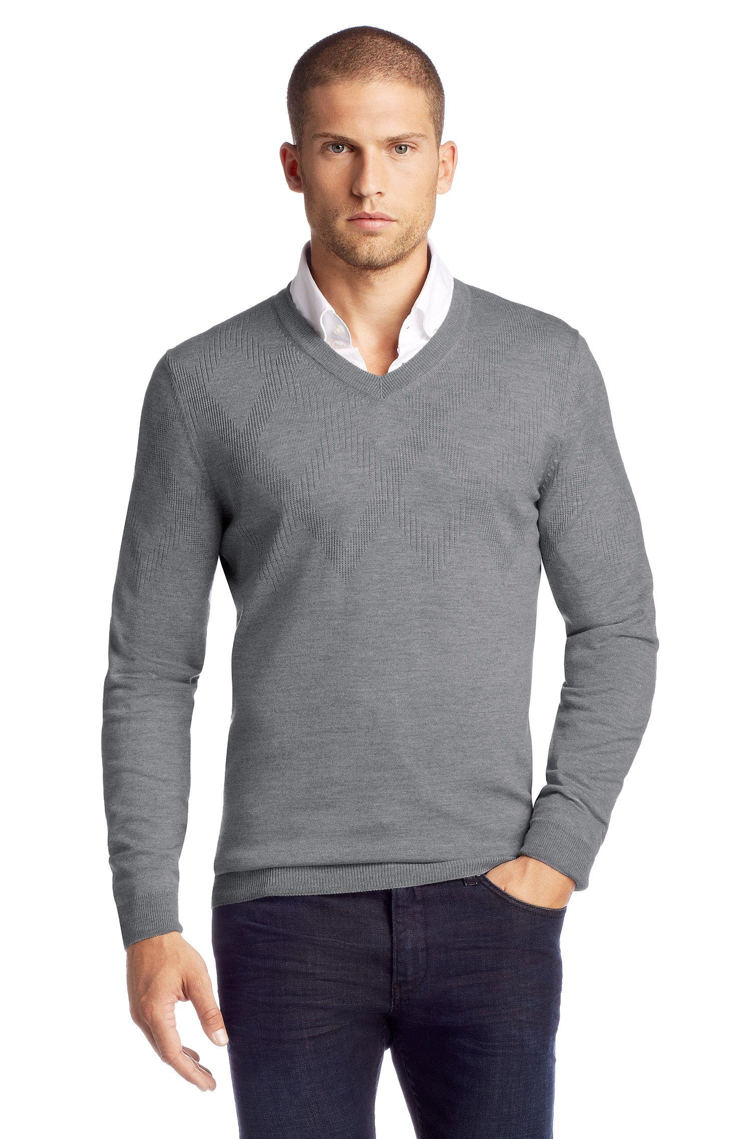 Pullover ´Miles` aus Schurwolle