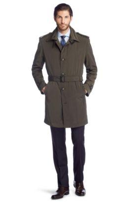 Trench-coat à doublure bien chaude, The Trace, Marron foncé