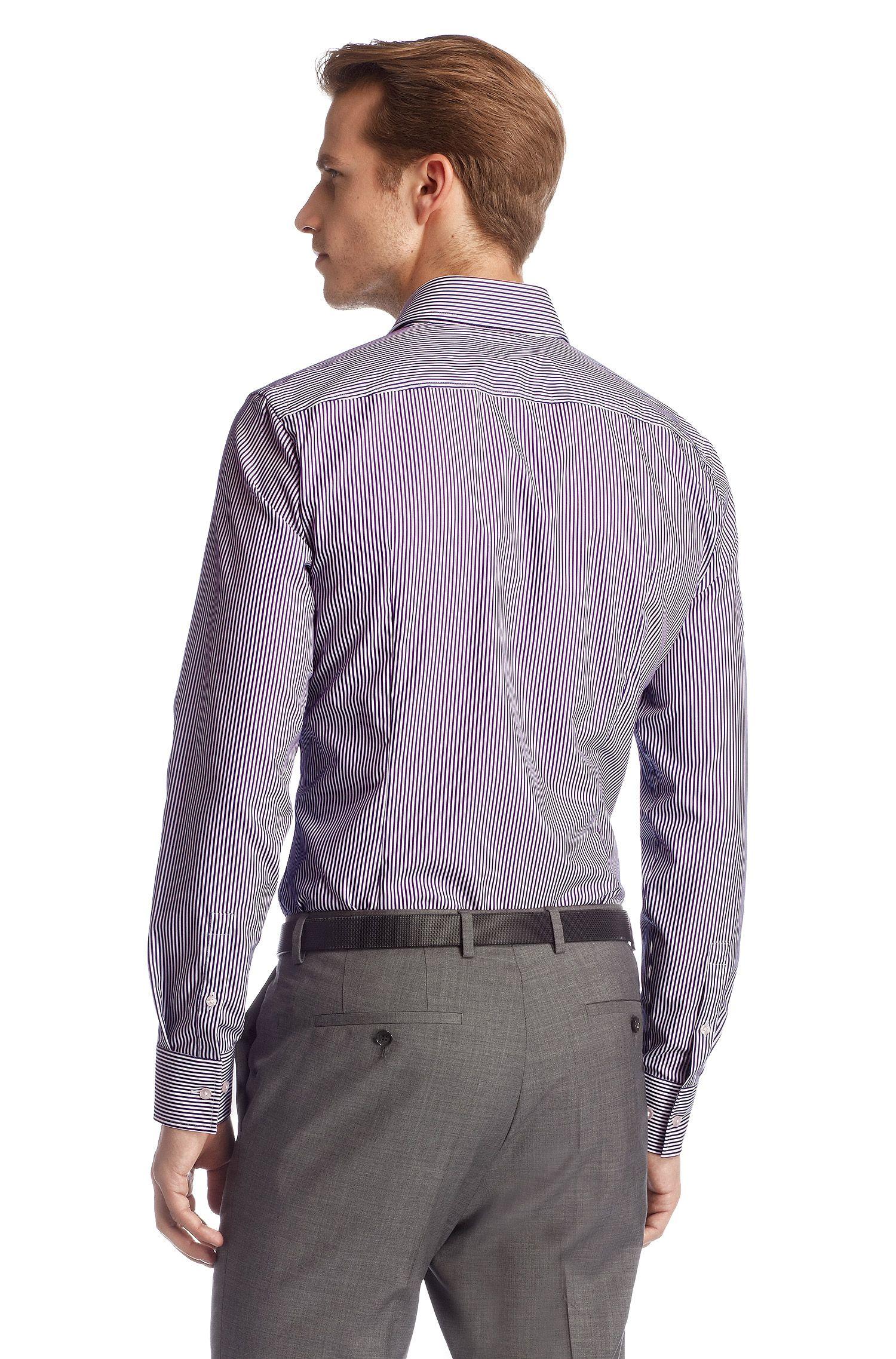 Business-overhemd ´Jaron' van Egyptisch katoen, Lila